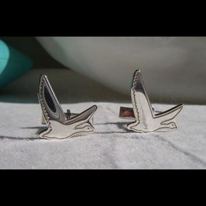 Tiffany & Co. Sterling Goose Cuff Links